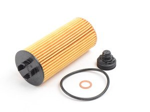 ES#2727548 - 11428570590 - Oil Filter Element - Factory oil service part - Genuine BMW - BMW