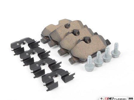 ES#2798600 - 34216871300 - Rear Brake Pad Set - Restore the stopping power in your MINI - Genuine MINI - MINI