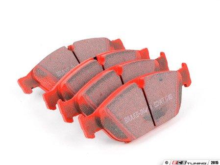 ES#2588667 - DP32086C - Redstuff Performance Front Brake Pad Set - A high performance street pad, featuring Kevlar technology - EBC - Audi