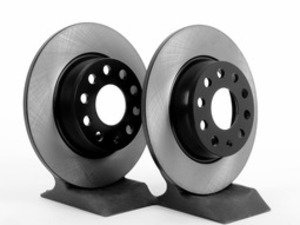 ES#2816872 - 1K0615601AAKT5 -  Rear Brake Rotors - Pair (272x10) - Replace your worn rotors and stop with confidence. - OP Parts - Audi Volkswagen
