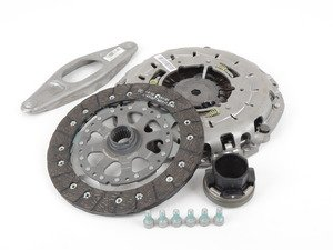 ES#2557666 - 21207625147 - Remanufactured Clutch Kit - 6 Speed Transmission - Includes clutch disc, pressure plate, and release bearing - Genuine BMW - BMW