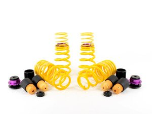 ES#2828654 - 25310090 - KW H.A.S. - Adjustable Coilover Spring System - Retains the use of your factory equipped dampening system while providing the ability to adjust ride height - KW Suspension - Audi