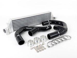 "ES#2827146 - FMINTMK6bLA - Front Mount Intercooler Kit - Black Hoses - Forge innovative ""TWINtercooler"" design - Forge - Volkswagen"