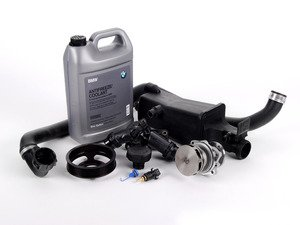 ES#2158108 - ECSE531711-7 - ECS Cooling System Refresh Kit - Level 1 - Stop your cooling problems before they start - includes an ECS Aluminum water pump pulley and featuring a GEBA water pump with a metal impeller - Assembled By ECS - BMW
