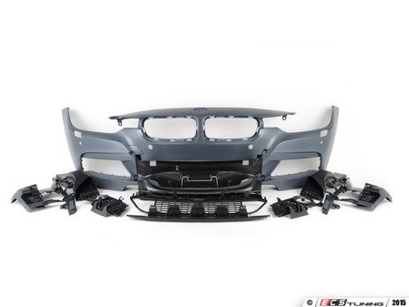 ES#3219299 - f30mscKT1 - Complete M Sport Conversion  - Complete front and rear bumper conversion and side skirts for a complete retrofit - Assembled By ECS - BMW