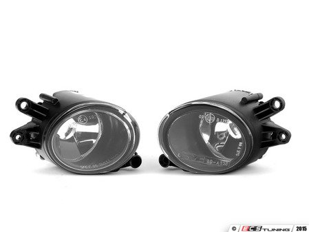 ES#2749119 - 133430EKT - Fog Lamp Assembly - Pair - Set of replacement fog lamp assemblies, complete with adjusters - Assembled By ECS - Audi