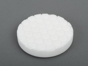 "ES#2619163 - BUFX104HEX5 - 5.5"" White Hex Logic Polishing Pad - 1500 To 2000 Grit - Works well with pre wax cleaners, course polishes or finishing polishes - Chemical Guys - Audi BMW Volkswagen Mercedes Benz MINI Porsche"