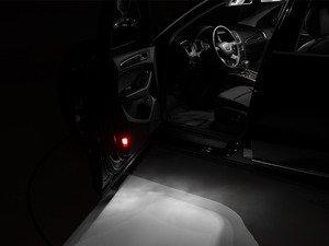 ES#2855357 - 009753ECS06KT - LED Door Puddle & Warning Lighting Kit - Transform you door puddle lighting with new LED bulbs from Ziza - ZiZa - Audi