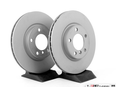 ES#4141725 - 34119804829KT13 - Front & Rear Brake Service Kit - Featuring Zimmerman rotors and Akebono pads - Assembled By ECS - MINI