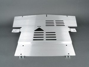 ES#2840601 - U01 - Aluminum Skid Plate  - Protection and aerodynamics that mounts under the engine - Rennline - MINI