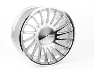 """ES#2855297 - 3sdm00483sdKT - 18"""" 0.04 - Set Of Four  - 18""""x9.5"""" ET40 5x112 - Silver/Cut - 3SDM - Audi Volkswagen"""