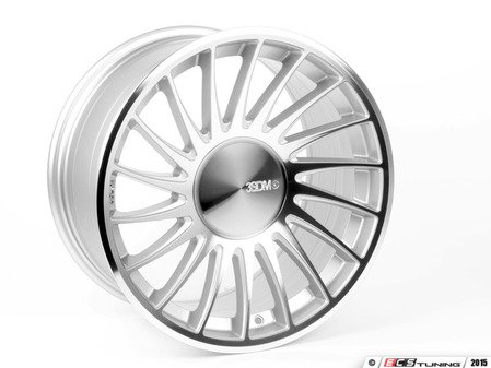 "ES#2839154 - 3SDM0049KT1 - 18"" Style 0.04 Wheels - Square Set Of Four - 18""x8.5 ET35 CB72.6mm 5x120 Silver/Cut - 3SDM - BMW"