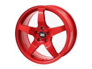 """ES#2841118 - 88.05.03rKT - 17"""" RSE05 - Set Of Four  - 17""""X8"""" ET45 5x112 - Red - Neuspeed - Audi Volkswagen"""