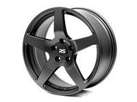 "ES#2841004 - 88.52.04bKT - 18"" RSE52 - Set Of Four  - 18""X9"" ET40 5x112 - Satin Black - Neuspeed - Audi Volkswagen"