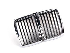 ES#77580 - 51131945877 - Kidney Grille Assembly - Fix your broken or missing front kidney grille - Genuine BMW - BMW