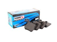 ES#1306040 - HB371F.600 - Rear Brake Pad Set - HPS Compound - Does not include new brake pad wear sensors - Hawk - Mercedes Benz