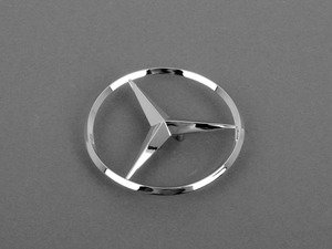 ES#1749379 - 2097580058 - Mercedes-Benz Emblem - Located on trunk lid - Genuine Mercedes Benz - Mercedes Benz