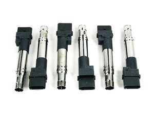 ES#8001 - 022998715 - Ignition Coil - Set Of Six - Keep your engine running strong - Genuine Volkswagen Audi - Audi Volkswagen