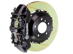 ES#2852468 - 1N2.9506A1 - Front Brembo GT 6 Piston Big Brake Kit (405x34mm) - Upgrade to 2 piece rotors (slotted), 6 piston calipers (black), & high performance Brembo pads - Brembo - BMW