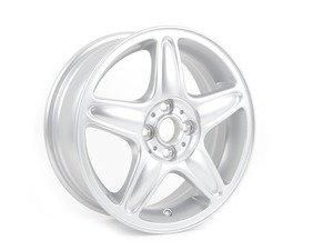 "ES#64925 - 36116769409 - R103 5-Star Blaster Alloy Wheel 16"" (4x100) Silver - Priced Each - 16 X 6.5 ET:48 - Genuine MINI - MINI"