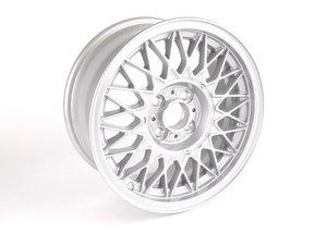 "ES#64502 - 36111179066 - 15"" Cross Spoke Spoke Style 5 Wheel - Priced Each - 15x7 ET 24 57.1 CB - Genuine BMW - BMW Volkswagen"