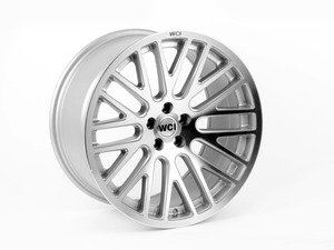 "ES#2847738 - sy95.1KT - 18"" SY10 - Set Of Four  - 18""X9.5"" ET35 5x100 - Machined/Silver - WatercooledIND - Audi Volkswagen"