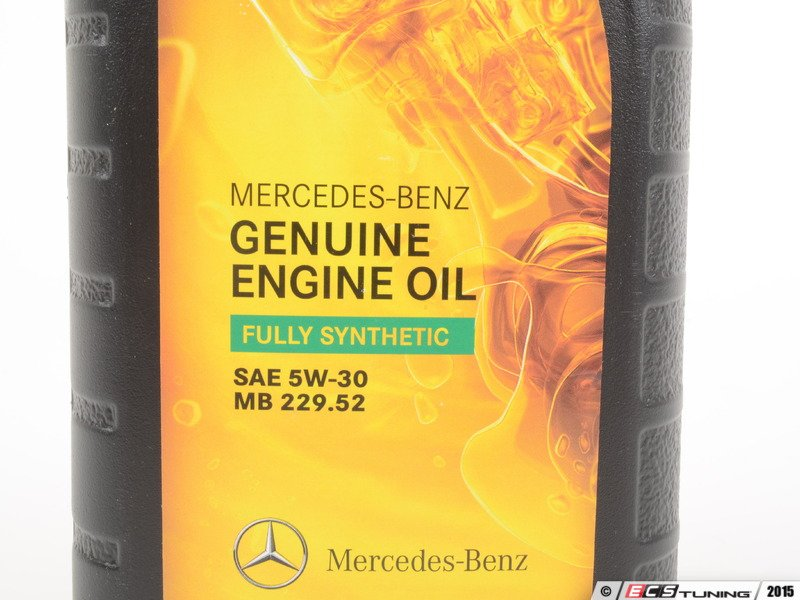 Genuine mercedes benz 0019893701usa6 5w 30 full for Mercedes benz synthetic oil