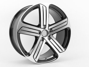 "ES#2770596 - 5g0601025ahKT - 19"" Cadiz Wheel - Set Of Four - 19x8 ET50 5x112 Alloys from the MKVII Golf R - Genuine European Volkswagen Audi - Volkswagen"