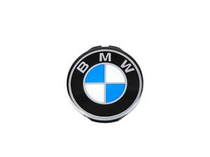 ES#53523 - 32331117279 - Steering Wheel Emblem / Roundel - Replace your missing or worn steering wheel roundel - Genuine BMW - BMW