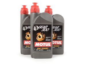ES#4057060 - G052527AKT -  Manual Transmission Fluid Service Kit - With ECS Magnetic Drain Plug - Featuring 3 liters of full synthetic Motul 75W-90 fluid and a ECS magnetic drain plug to service your transmission. - Assembled By ECS - Volkswagen