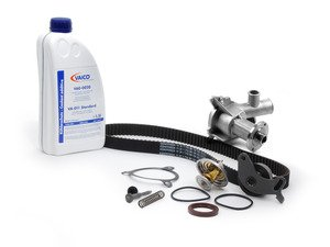 ES#260767 - M20_11 - Ultimate Timing Belt Kit - Level 2 - Replace your water pump and thermostat with your timing belt! - Assembled By ECS - BMW