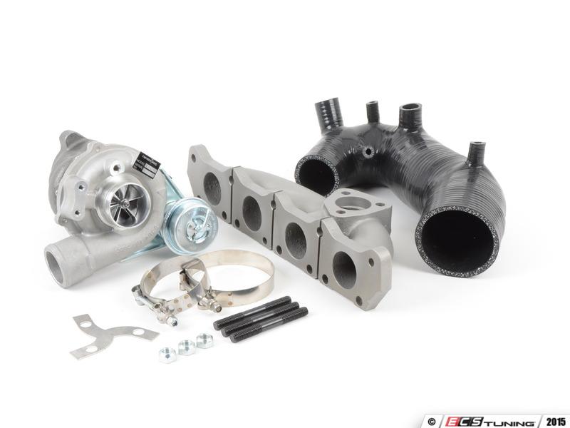 ECS News Audi B A T FrankenTurbo F Hybrid Turbo Upgrade - Audi a4 turbo upgrade