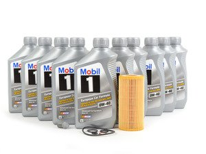 ES#2804260 - 2751800009KT - Engine Oil Service Kit - With 0W-40 Engine Oil - Everything you need to perform an engine oil service - Genuine Mercedes Benz - Mercedes Benz
