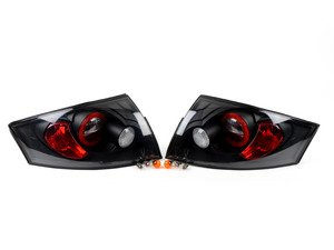 ES#2842144 - YDATT99BK - Tail Light Set - Black - Upgrade your exterior looks - Spyder - Audi