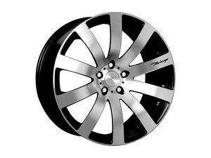 "ES#2855693 - hr41121990bkKT - 19"" HR4 Wheels - Set Of Four - 19""x9"" ET35 5x112 - Black/Diamond Cut Face - MRR Design - Audi Volkswagen"