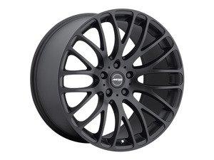 """ES#2562122 - HR62213050BKKT - 22"""" HR6 - Set Of Four  - 22""""x10"""" ET50 5x130 - Matte Black - MRR Design - Audi Volkswagen Porsche"""