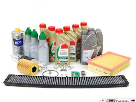 """ES#2580183 - E46M3SVCUP+KT - """"Complete"""" Enthusiast Inspection II Kit - Includes a comprehensive selection of quality parts to service your BMW including TWS Edge Professional oil - Assembled By ECS - BMW"""