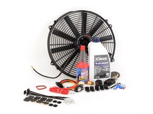 ES#2812843 - E36FNDKT6 - Electric Fan Conversion Kit  - Free up some extra horsepower by replacing your fan with a Mishimoto e-fan - Assembled By ECS - BMW