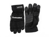 ES#2808554 - 010337SCH03A - Schwaben Black Mechanics Work Gloves - XL - Protection for your hands while you work. No more scrapes and cuts. - Schwaben - Audi BMW Volkswagen Mercedes Benz MINI Porsche