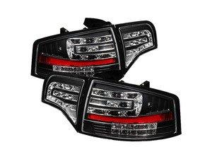 ES#2842103 - YDAA406G2LEDBK - Led Tail Light Set - Black - Upgrade your exterior looks - Spyder - Audi