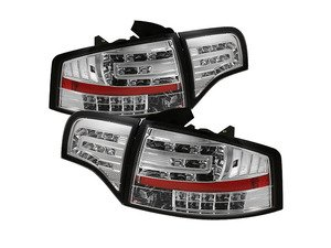 ES#2842104 - YDAA406G2LEDC - Led Tail Light Set - Chrome - Upgrade your exterior looks - Spyder - Audi