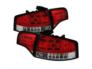 ES#2842105 - YDAA406G2LEDRC - Led Tail Light Set - Red/Clear - Upgrade your exterior looks - Spyder - Audi