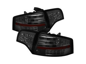 ES#2842107 - YDAA406G2LEDSM - Led Tail Light Set - Smoke - Upgrade your exterior looks - Spyder - Audi