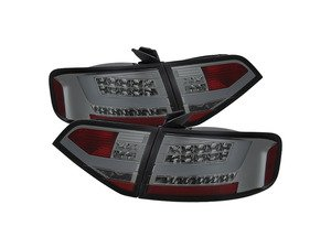 ES#2842112 - YDAA409LEDSM - Led Tail Light Set - Smoked - Upgrade your exterior looks - Spyder - Audi