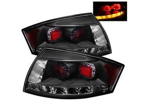ES#2842145 - YDATT99LEDBK - Led Tail Light Set - Black - Upgrade your exterior looks - Spyder - Audi