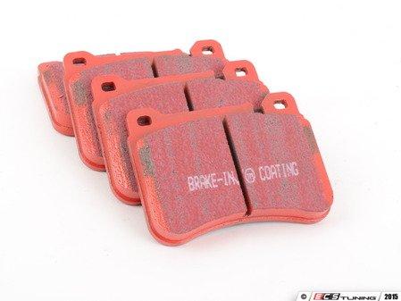 ES#520386 - DP31590C - Front Redstuff Ceramic Performance Brake Pad Set - High performance street pad featuring Kevlar technology - EBC - Mercedes Benz