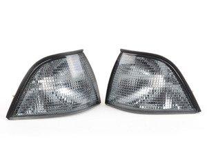 ES#2808213 - 4441505PUES - Light Smoke Corner Indicator Set - Light smoke turn signal assembly set - Depo - BMW
