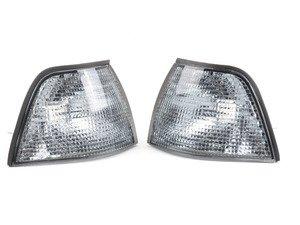 ES#2808208 - 4441503PUEVS - Light Smoke Corner Indicator Set - Light smoke turn signal assembly set - Depo - BMW
