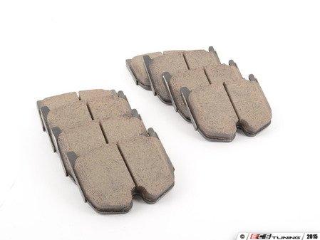 ES#2581039 - 0034207120 - Front Brake Pad Set - Does not include brake pad wear sensors - Akebono - Mercedes Benz