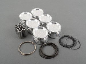 ES#2855409 - JE24VVR6R3241 - Piston Set - 84.5mm/ 8:5:1CR, No Coating, Standard Wrist Pin - JE Piston -